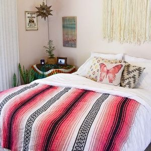 Other - Mexican Blanket / Melon Crush Boho Blanket